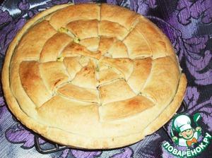 Пироги из песочного теста рецепты несладкие