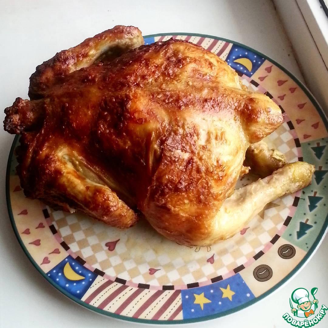 Курица в бутылке в домашних условиях рецепт