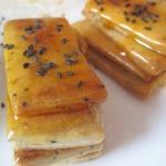 Карамельное печенье с рассолом