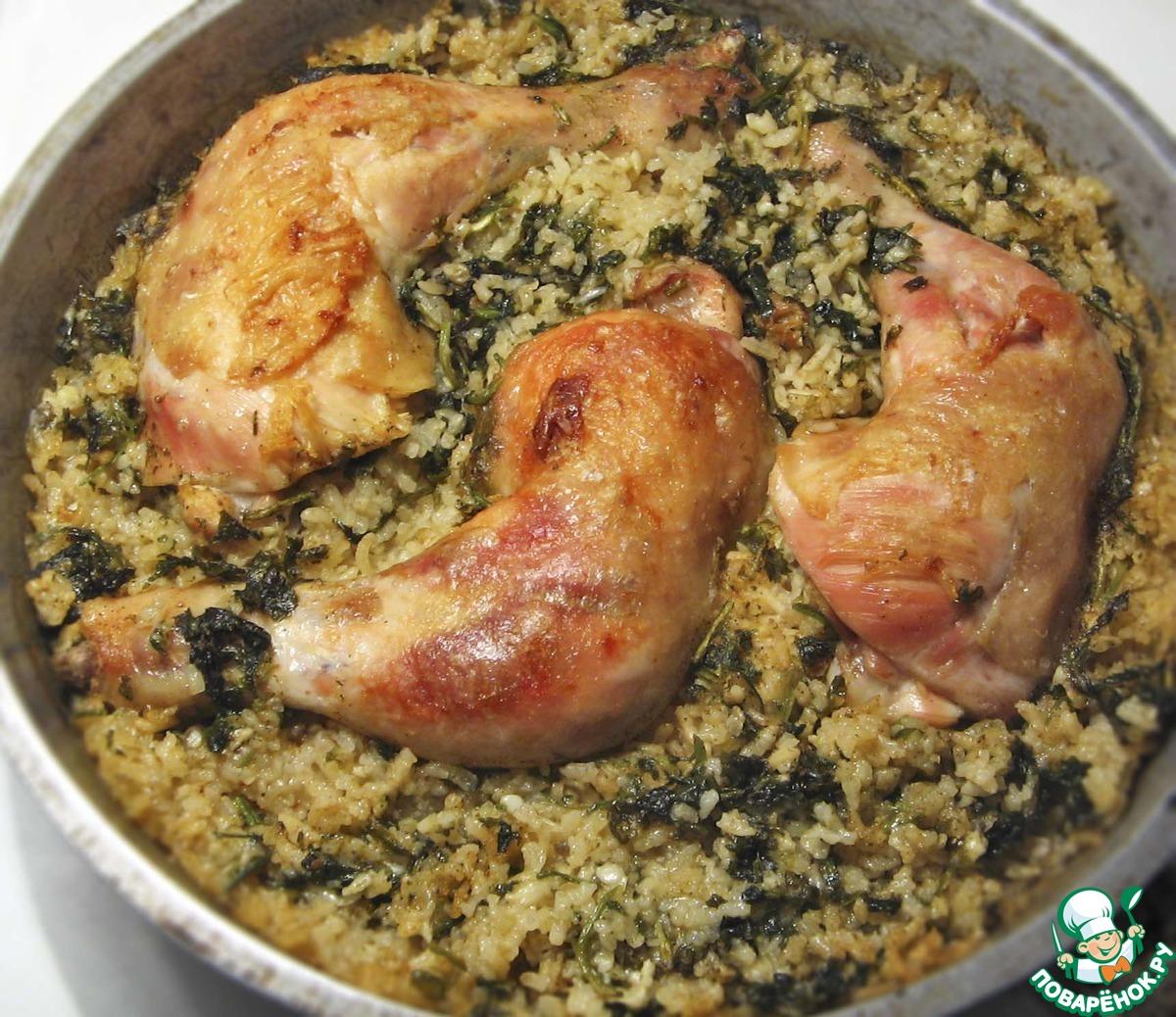Курица по деревенски в духовке рецепт с пошагово