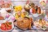 Пасхальный стол с легкими блюдами