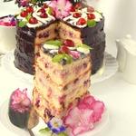 Вишнёвый торт для любимой