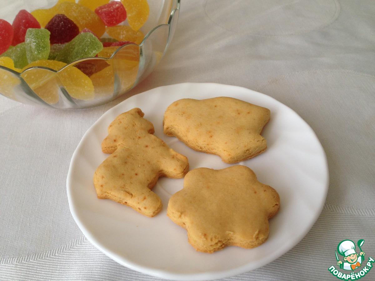 Как сделать простое печенье без маргарина