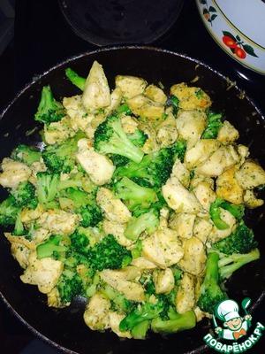 Рецепт: Брокколи с курицей