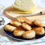 Постные котлеты капустные с хлебом