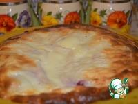 """Творожно-вишнёвая запеканка-пирог в лаваше """"Кружева"""" ингредиенты"""