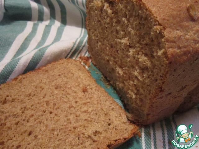 Ржаной хлеб быстрого приготовления