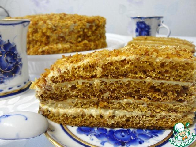 торт уксус Рыжик рецепт