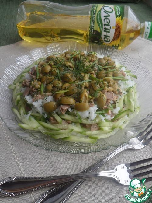 Салат из печени трески постный рецепт с очень вкусный с