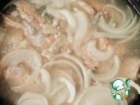 Уха по-китайски в сковороде ингредиенты