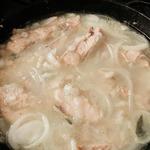 Уха по-китайски в сковороде