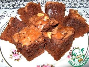 Рецепт: Шоколадный брауни