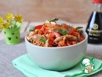 Салат из куриного филе с морковью по-корейски ингредиенты
