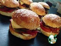 Булочки для гамбургеров ингредиенты