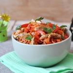 Салат из курицы с морковью по-корейски