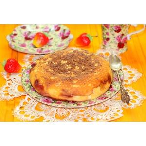 """Творожная запеканка-десерт """"Апельсинка"""""""