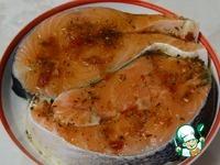 Семга по-турецки с русским соусом ингредиенты