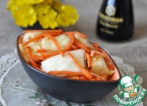 Закуска из капусты с морковью по-корейски
