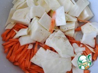 Закуска из капусты с морковью по-корейски ингредиенты