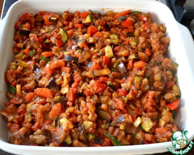 рецепт рататуй в духовке с курицей рецепт
