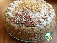 """Кофейно-ореховый торт """"Византия"""" ингредиенты"""