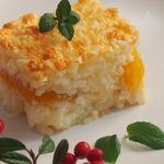 Рисовая запеканка с абрикосами
