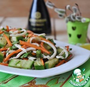 китайский салат огурцы с мясом Огурцы с мясом по-корейски (веча)
