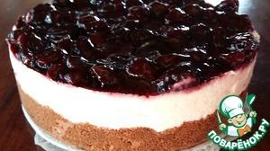 Торт без выпечки с рикоттой