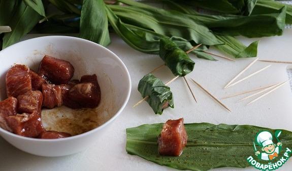 листья черемши рецепты
