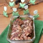 Куриные крылышки, маринованные в томатном соке