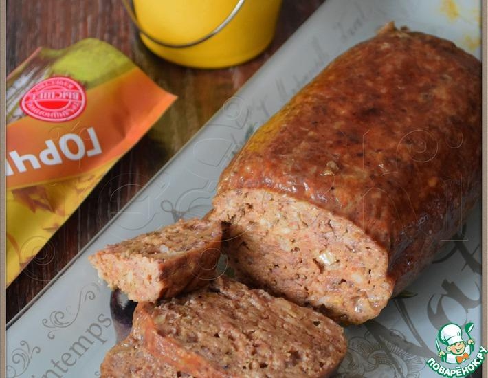 Рецепт: Печеночная колбаса Сельская