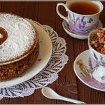 Сметанно-ореховый пирог