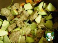 Свинина с овощами ингредиенты