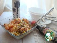 Салат с креветками ингредиенты