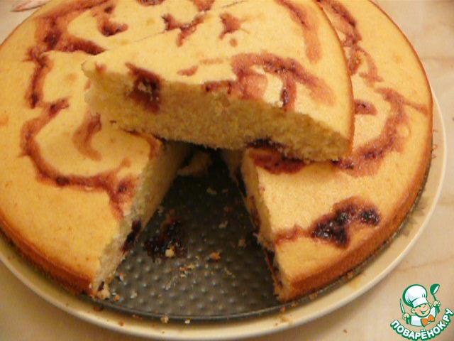 Поваренок пирог с вареньем