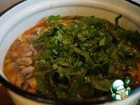 Щавелевый суп с шампиньонами и рисом ингредиенты