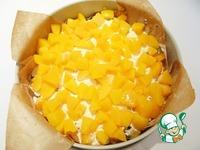 Манный пирог с персиками и маком ингредиенты