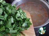 Суп с щавелем, яйцом и кускусом ингредиенты
