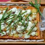Пирог с картофелем и брынзой