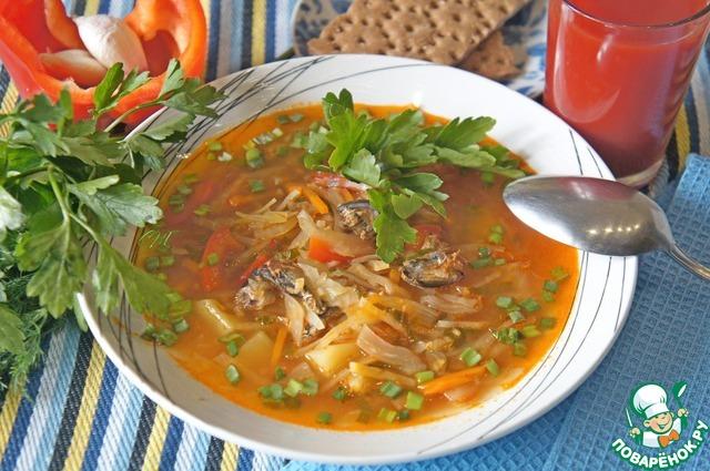 рецепт супов из кильки в томате