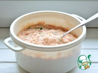 Мясной пшенник запеченный ингредиенты