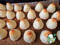 """Кокосовое печенье """"Конусы"""" ингредиенты"""
