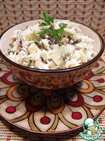 Салат из авокадо и капусты рецепт