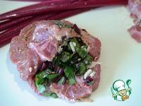 Свинина со свекольной ботвой ингредиенты