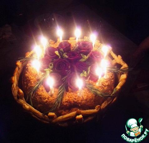 """Торт """"Миллион алых роз"""""""