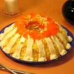 Салат морская пена с кальмарами изоражения