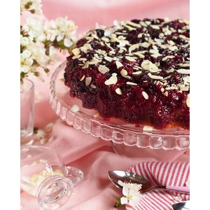 Ягодный пирог-перевертыш