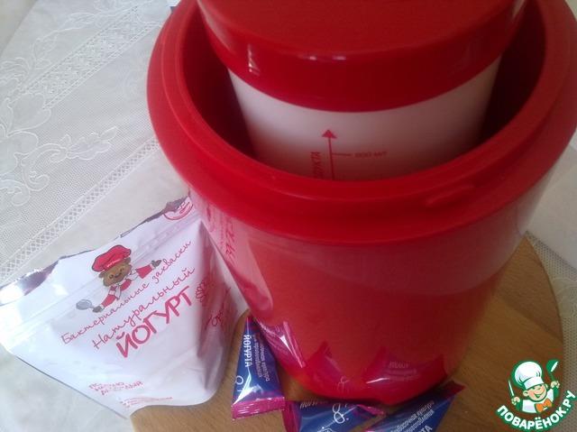 Йогурт в термосе фото