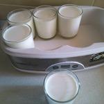 Натуральный йогурт на хлебной закваске