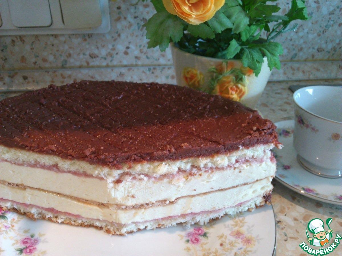 Торт на молоке рецепт с фото пошагово